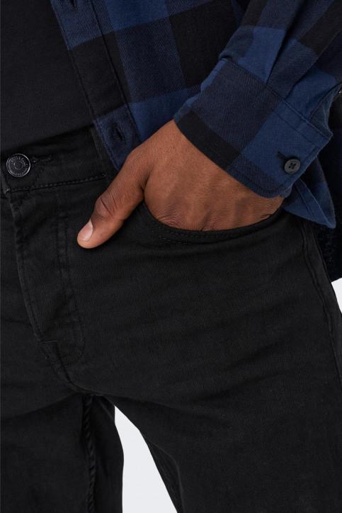 ONLY & SONS Jeans slim zwart 22010448_BLACK DENIM img4