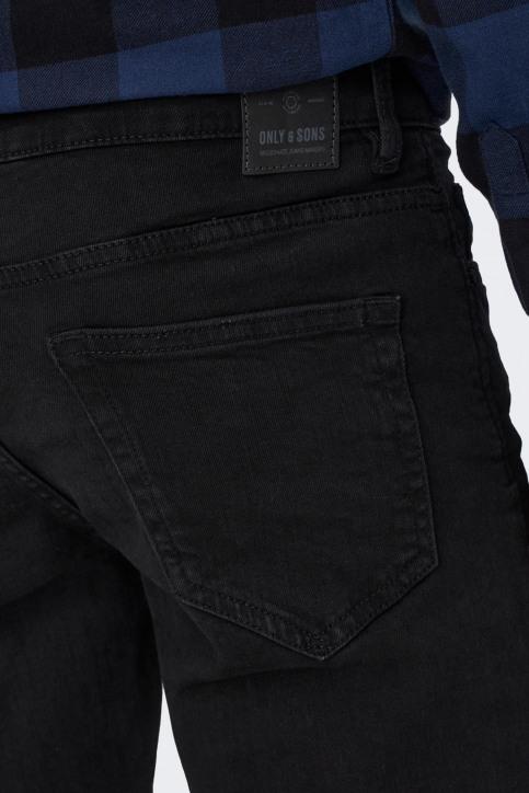 ONLY & SONS Jeans slim zwart 22010448_BLACK DENIM img5