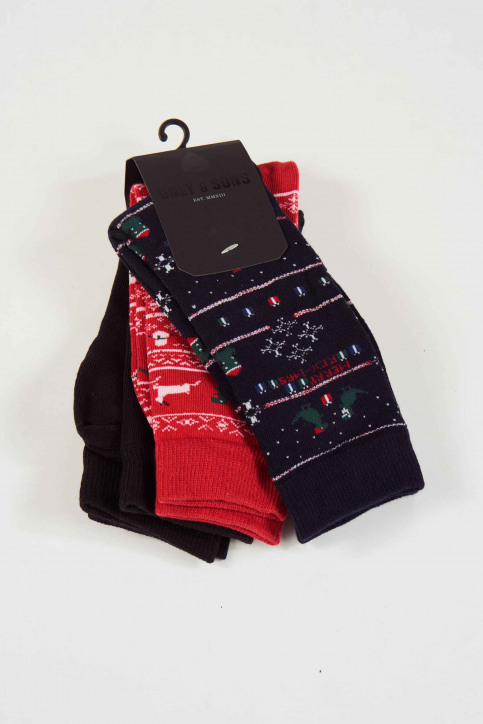 ONLY & SONS Chaussettes 22011453_BLACK AOP img2