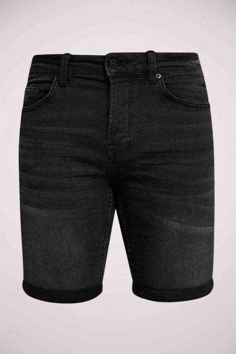 ONLY & SONS Shorts zwart 22012021_BLACK DENIM img4