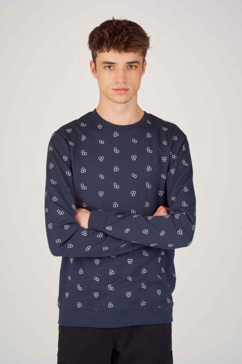 ONLY & SONS Sweaters met ronde hals blauw 22012856_DRESS BLUES img1