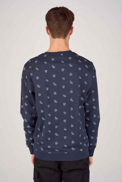 ONLY & SONS Sweaters met ronde hals blauw 22012856_DRESS BLUES img3