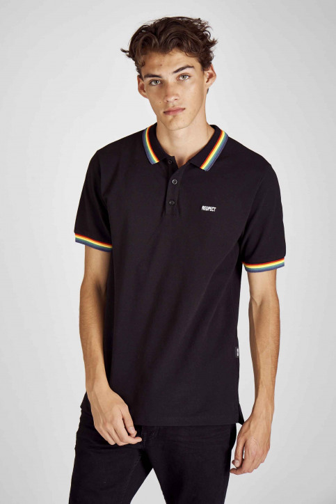 ONLY & SONS® Polo's zwart 22014692_BLACK img1