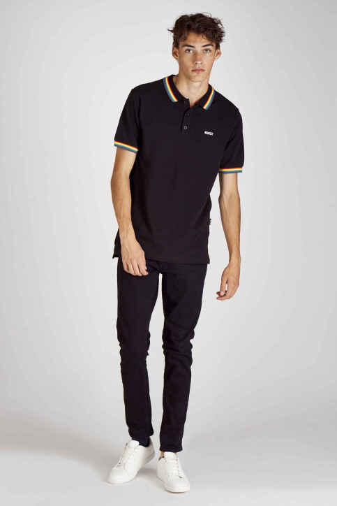 ONLY & SONS® Polo's zwart 22014692_BLACK img2
