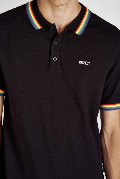 ONLY & SONS® Polo's zwart 22014692_BLACK img4