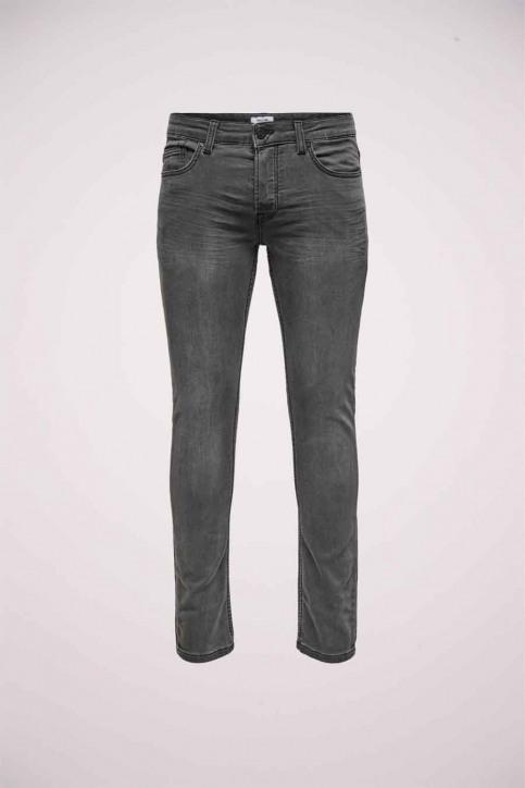 ONLY & SONS Jeans slim zwart 22014873_BLACK DENIM img1