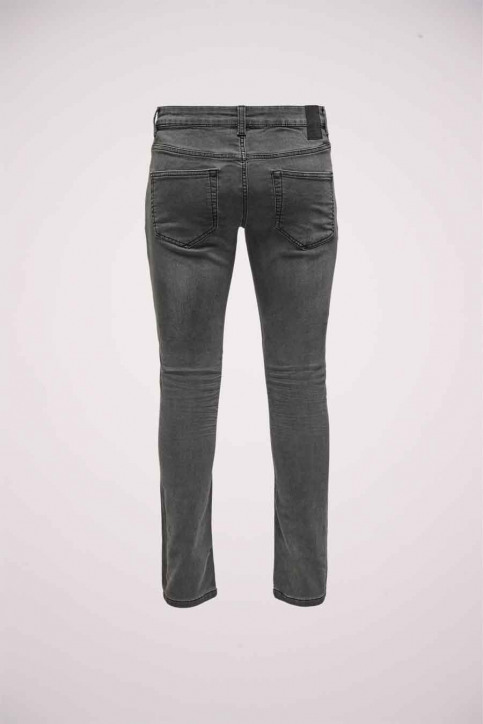 ONLY & SONS Jeans slim zwart 22014873_BLACK DENIM img2
