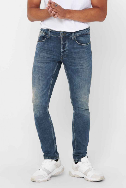 ONLY Jeans straight denim 22015255_5255 MID VINTAG img1