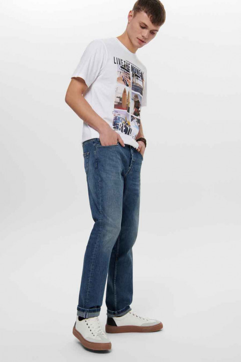 ONLY & SONS® Jeans straight denim 22015255_5255 MID VINTAG img5