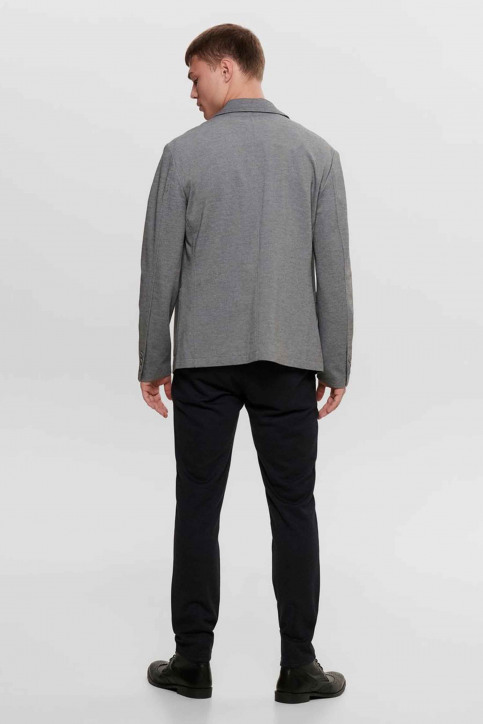 ONLY & SONS® Blazers gris 22015852_MEDIUM GREY MEL img3