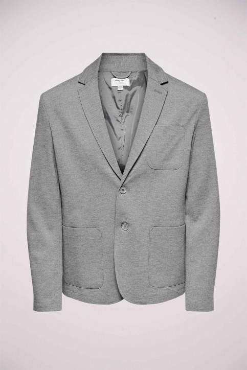 ONLY & SONS® Blazers gris 22015852_MEDIUM GREY MEL img5