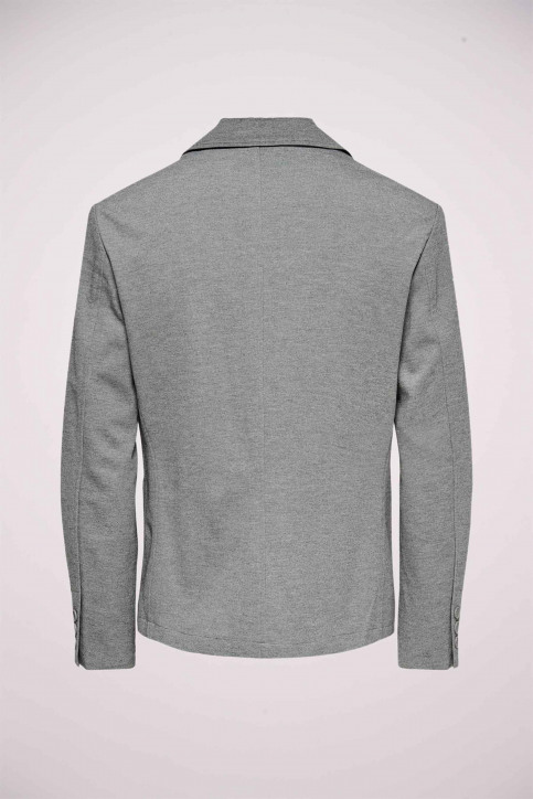 ONLY & SONS® Blazers gris 22015852_MEDIUM GREY MEL img6
