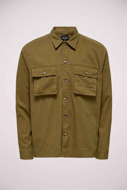ONLY & SONS Hemden (lange mouwen) beige 22016674_KANGAROO img1