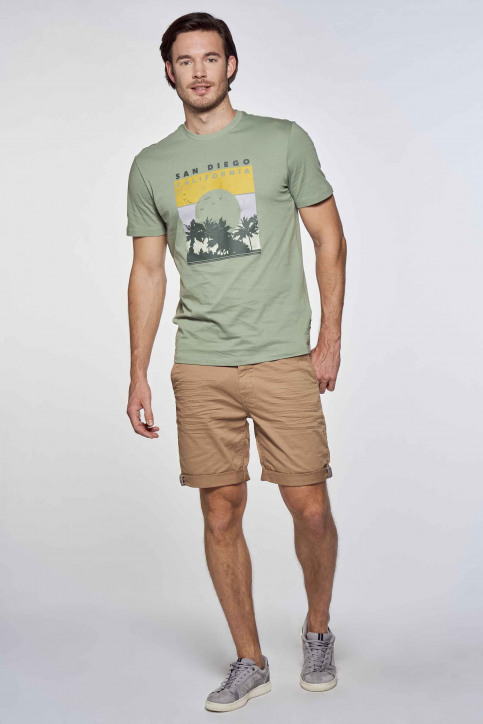 ONLY & SONS® T-shirts (korte mouwen) groen 22019297_HEDGE GREEN img1