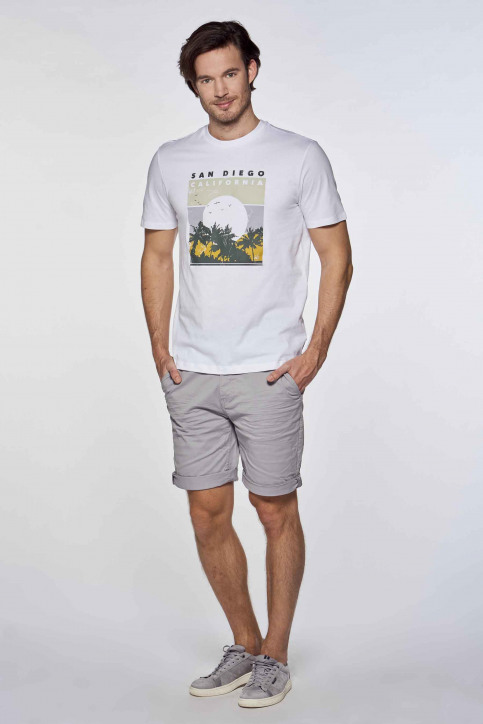ONLY & SONS® T-shirts (korte mouwen) wit 22019297_WHITE img1