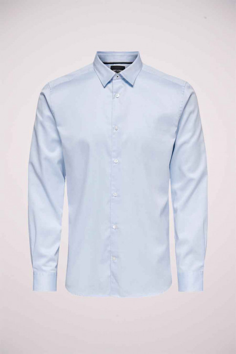ONLY & SONS® Hemden (lange mouwen) blauw 22019830_CASHMERE BLUE img1