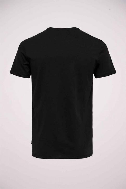 ONLY & SONS T-shirts (korte mouwen) zwart 22020215_BLACK img2