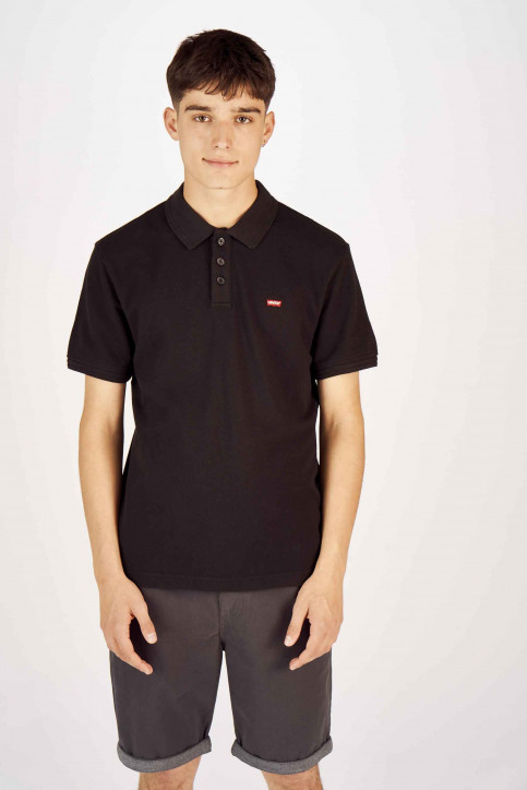 Levi's® Polo's zwart 224010080_0080 MINERAL BL img1