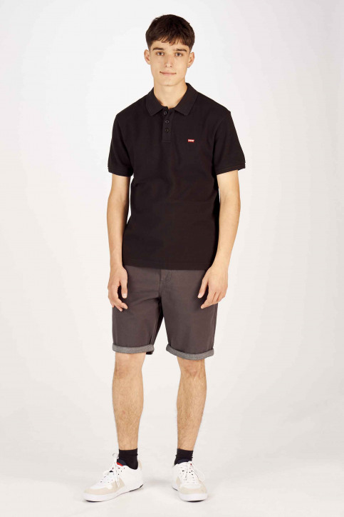 Levi's® Polo's zwart 224010080_0080 MINERAL BL img2