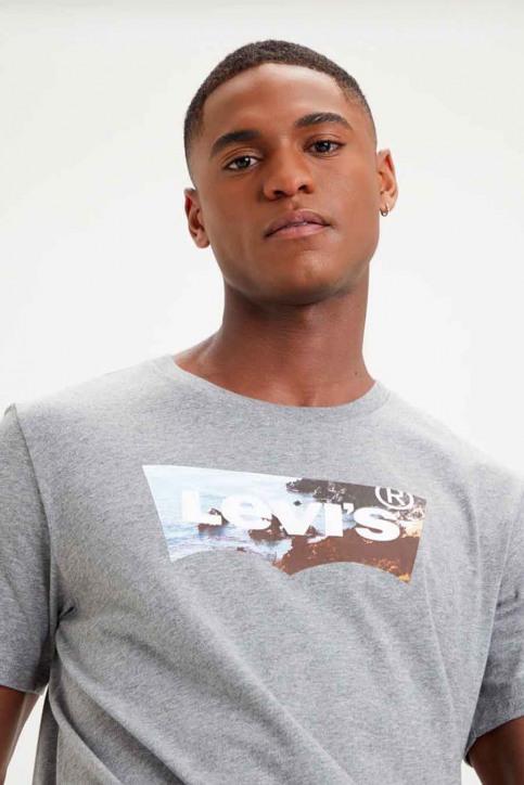 Levi's® T-shirts (manches courtes) gris 224890298_0298 MID TON GR img1