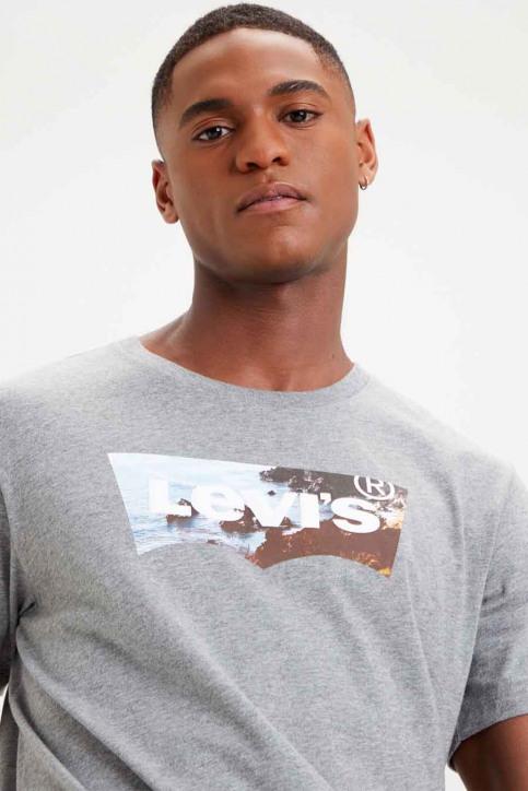 Levi's® T-shirts (manches courtes) gris 224890298_0298 MID TON GR img3