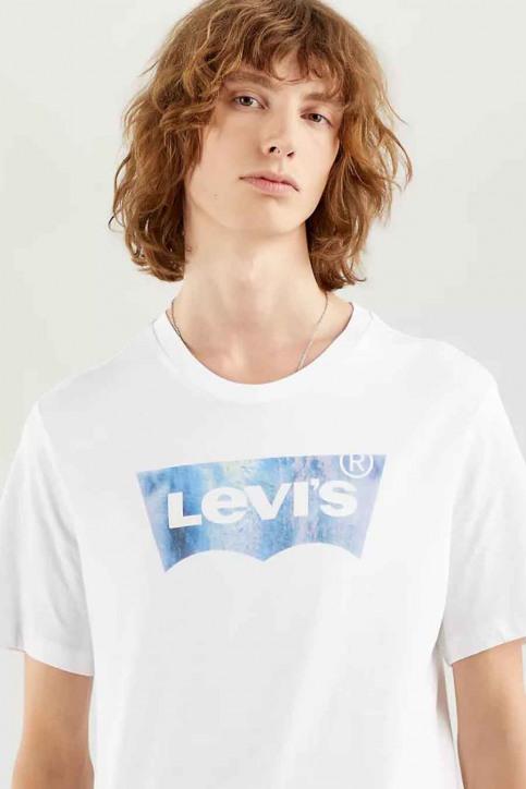 Levi's® T-shirts (korte mouwen) wit 224890343_0343 B WFILL WH img2