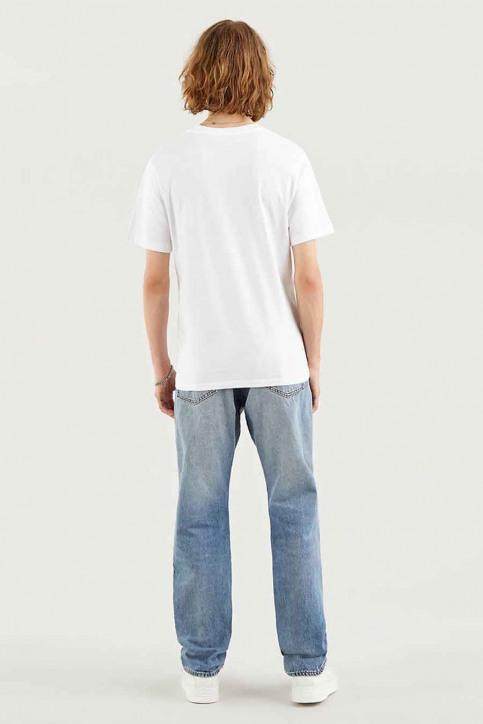 Levi's® T-shirts (korte mouwen) wit 224890343_0343 B WFILL WH img3
