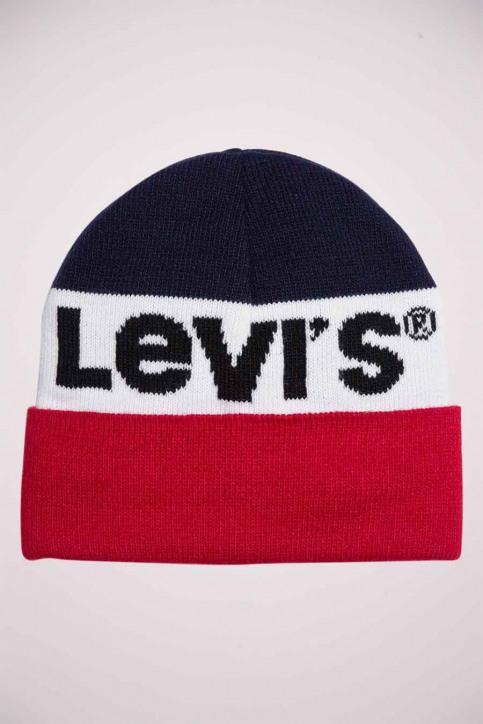 Levi's ® accessoires Mutsen blauw 228857_17 NAVY img1
