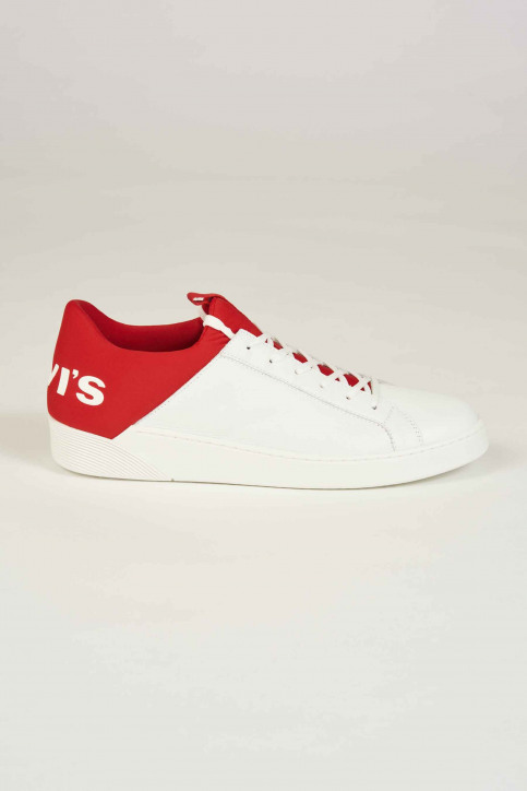 Levi\'s®Accessories Schoenen wit 230087_87 WHITE RED img3
