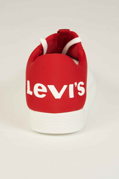Levi\'s®Accessories Schoenen wit 230087_87 WHITE RED img4