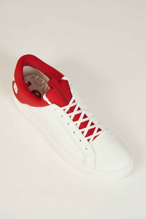 Levi\'s®Accessories Schoenen wit 230087_87 WHITE RED img6