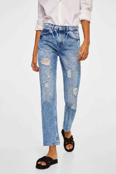 MANGO Jeans boyfriend denim 23013686_MNG_18_TMTEJANO MEDIO img1