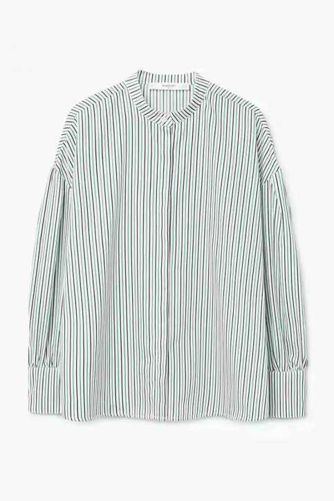 MANGO Hemden (lange mouwen) groen 23073021_MNG_18_GREEN img5