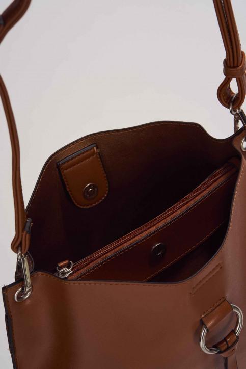 TOM TAILOR Sacs en bandoulière brun 2505422_COGNAC img3