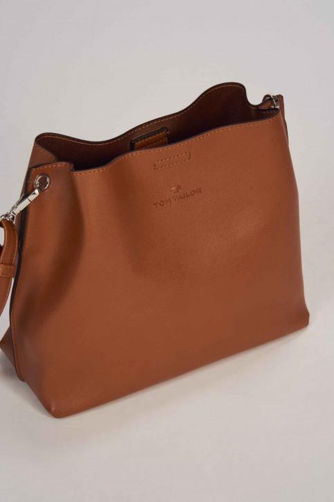 TOM TAILOR Sacs en bandoulière brun 2505422_COGNAC img5