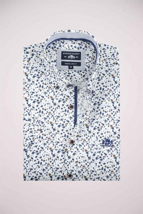 State Of Art Hemden (korte mouwen) wit 26410404_5784 KOBALT img3