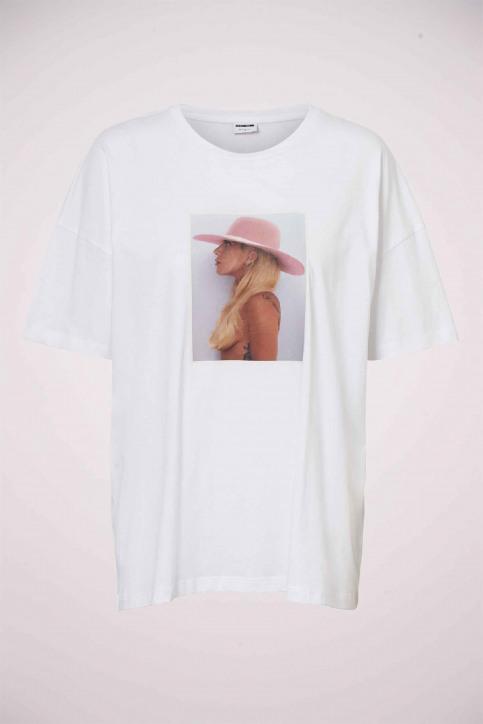 Noisy May T-shirts (korte mouwen) wit 27012230_BRIGHT WHITE img5