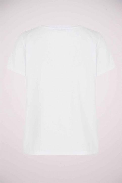 NOISY MAY T-shirts (korte mouwen) wit 27013599_BRIGHT WHITE ST img7