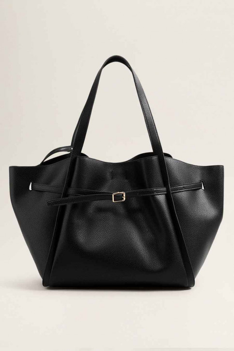 MANGO Handtassen zwart 33070611_MNG_18_BLACK img1