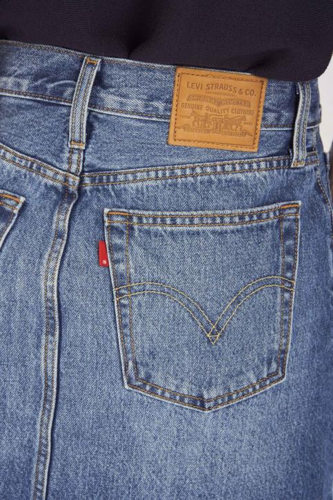 Levi's® Jupes courtes denim 349630023_0023 MIDDLE MAN img4