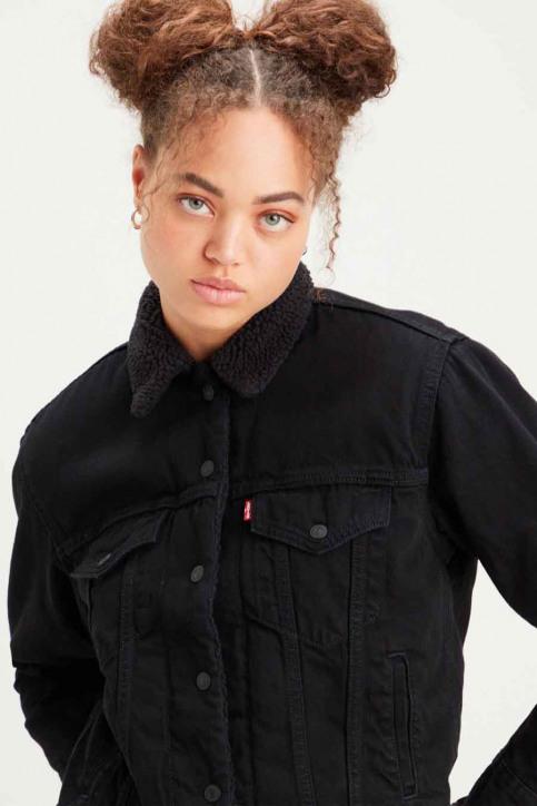 Levi's® Vestes denim noir 361370015_0015 BLACKS img3