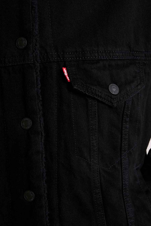 Levi's® Vestes denim noir 361370015_0015 BLACKS img6