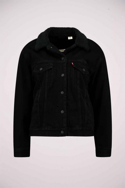 Levi's® Vestes denim noir 361370015_0015 BLACKS img7