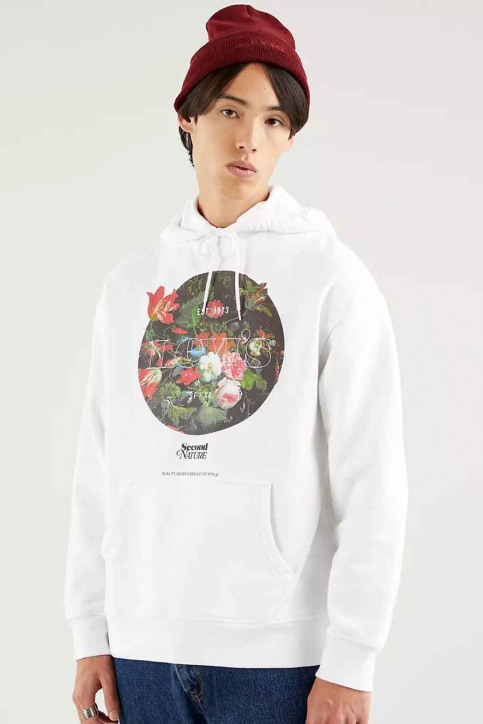 Levi's® Sweaters met kap wit 384790032_0032 SSNL MV PO img1