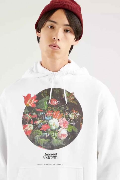 Levi's® Sweaters met kap wit 384790032_0032 SSNL MV PO img2