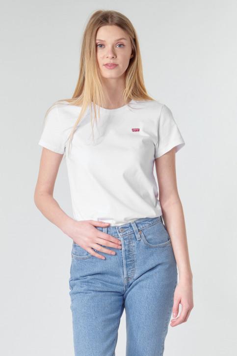 Levi's® T-shirts (korte mouwen) wit 391850006_0006WHITE img1