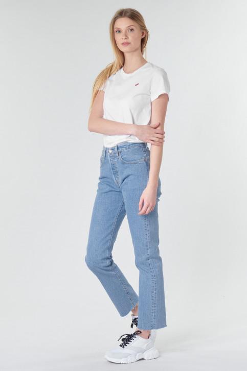 Levi's® T-shirts (korte mouwen) wit 391850006_0006WHITE img2