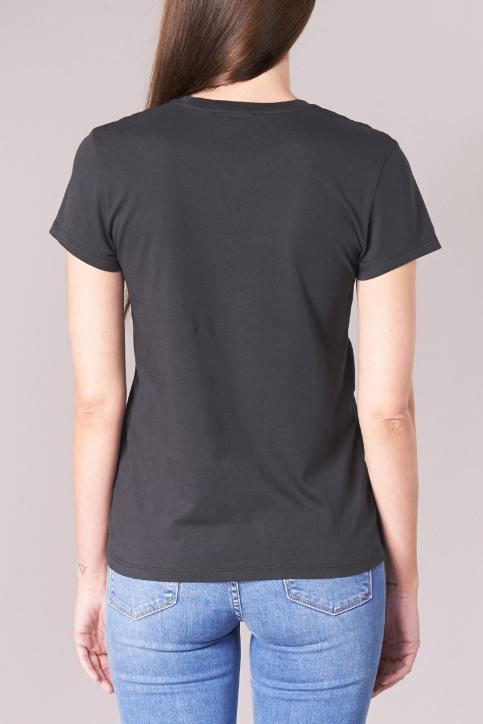 Levi's® T-shirts (korte mouwen) zwart 391850008_0008CAVIAR img3