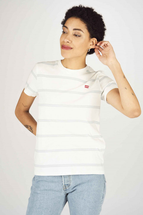 Levi's® T-shirts (manches courtes) blanc 391850062_0062 ALYSSA STR img4