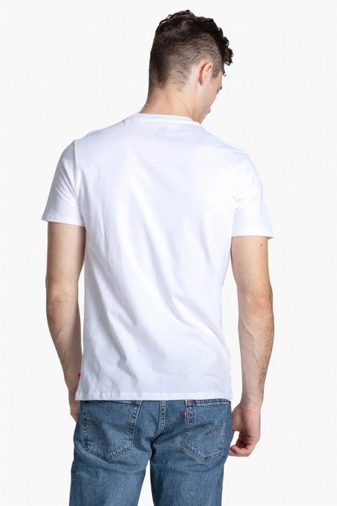 Levi's® T-shirts (korte mouwen) wit 39636 SPORTSWEARLOGO_0000WHITE img2
